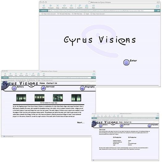 #1 - Cyrus Visions - 2001