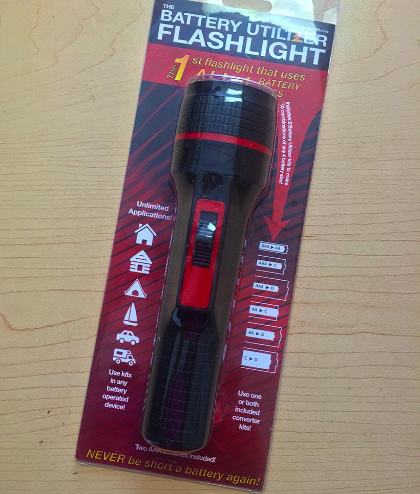 Battery Utilizer Flashlight